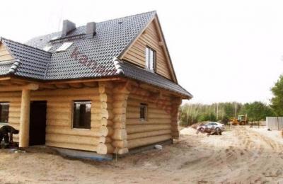 Domy z bali - Projekt nr 15