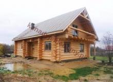 Domy z bali - Projekt nr 18