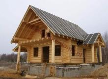 Domy z bali - Projekt nr 29