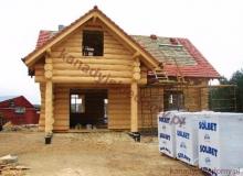 Domy z bali - Projekt nr 33