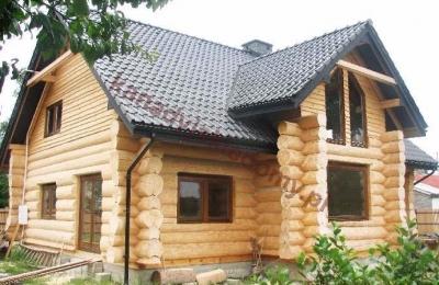 Domy z bali - Projekt nr 37