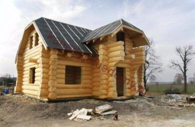 Domy z bali - Projekt nr 39