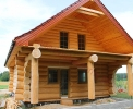 Domy z bali - Projekt nr 48