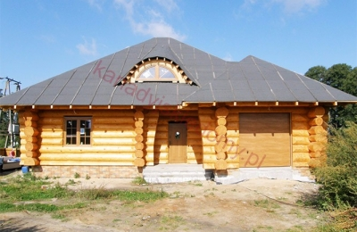 Domy z bali - Projekt nr 68