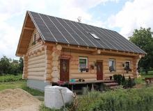 Domy z bali - Projekt nr 70