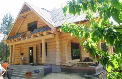 Domy z bali - Projekt nr 82