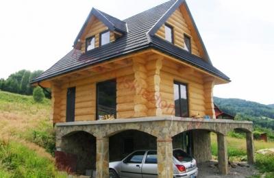 Domy z bali - Projekt nr 85