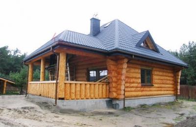Domy z bali - Projekt nr 88