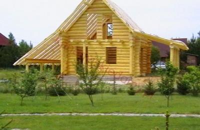 Domy z bali - Projekt nr 89