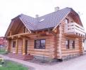 Domy z bali - Projekt nr 91