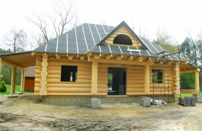 Domy z bali - Projekt nr 94