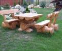 Meble ogrodowe z drewna