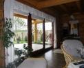 Wnętrza domów z bali - Salon