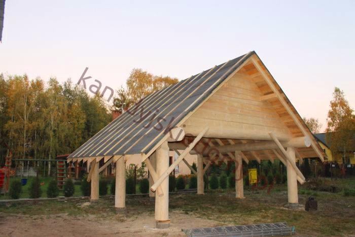 Wspaniały Domy z bali i domy z drewna Zbigniew Szewczyk - Wiaty - dobudowy GN55