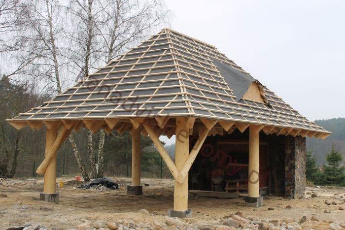 Najnowsze Domy z bali i domy z drewna Zbigniew Szewczyk - Wiaty - dobudowy SC43