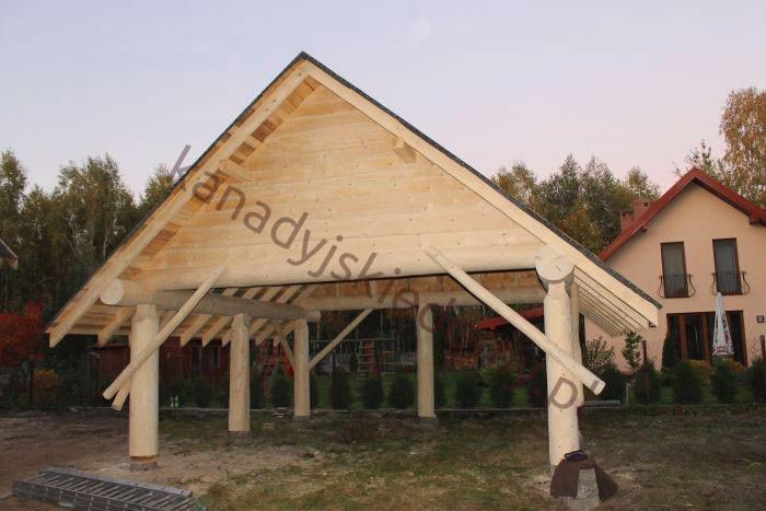 Bardzo dobra Domy z bali i domy z drewna Zbigniew Szewczyk - Wiaty - dobudowy WX97