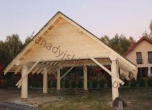 Wiaty - dobudowy do domów z bali
